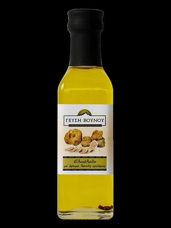 Ελαιόλαδο με άρωμα λευκής τρούφας 100ml