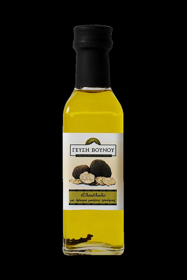 Ελαιόλαδο με άρωμα μαύρης τρούφας 100 ml